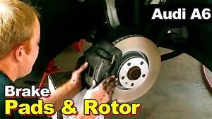 Audi A6 Break 2006 : 2008 audi a6 front brake pads and rotor youtube ~ Gottalentnigeria.com Avis de Voitures