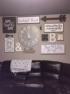 Diy living room wall decor