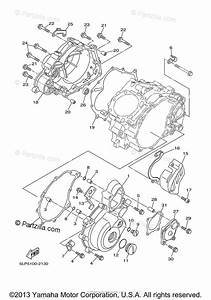 Yamaha Atv 2002 Oem Parts Diagram For Crankcase Cover  1