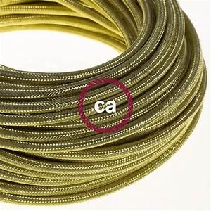 Gaine Pour Fil électrique : fil lectrique rond gaine de cuivre 100 couleur dor ~ Premium-room.com Idées de Décoration