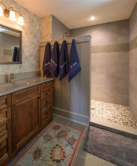 turn tub faucet into shower stalls for your master bathroom