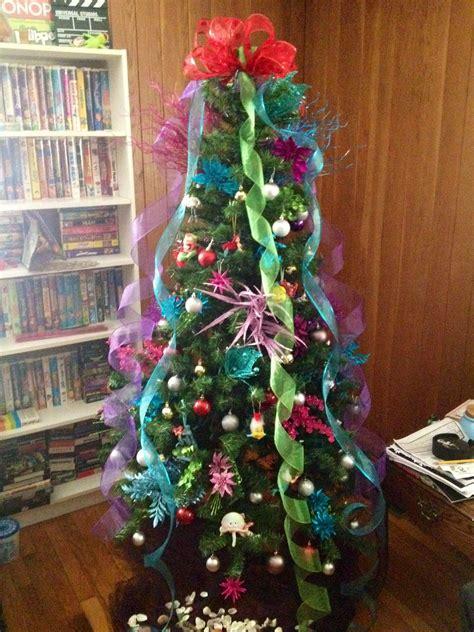 mermaid themed christmas tree ahhhh  tree noel