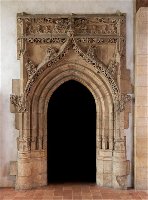 gothic doorway french  met