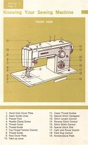 Kenmore 158 17560 Sewing Machine Instruction Manual