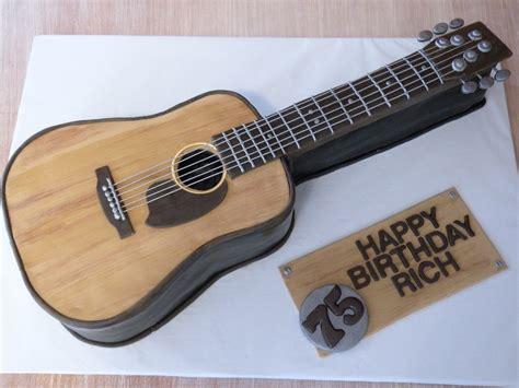 acoustic guitar cake cake chicks cakes gitarren