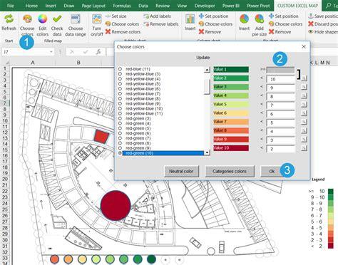 create  custom filled map choropleth map  regions