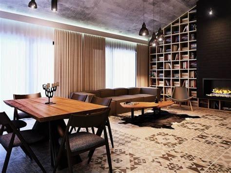 cuisine decoration déco appartement haut plafond