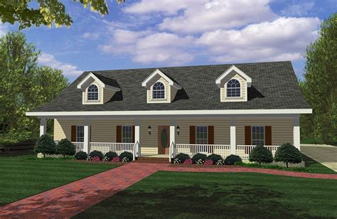covered porches front   dh architectural designs house plans