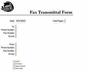 fax cover sheet fax coversheet fax coversheet With fax cover sheet excel