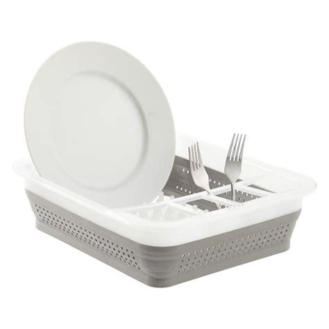 folding dish rack collapsible dish rack madesmart collapsible dish rack