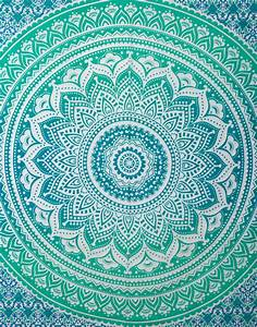 Ombre Hippie Tapestries Indian Mandala Large Wall Hanging
