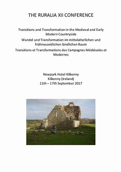 Transitions Countryside Xii Ruralia Transformation Medieval Conference