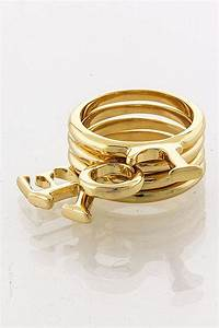 love letter stackable ring the shopping bag With love letter ring