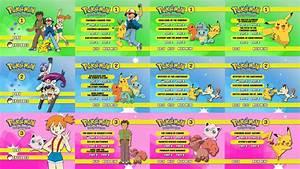 Pokemon Indigo League DVD Box Set Menus 1