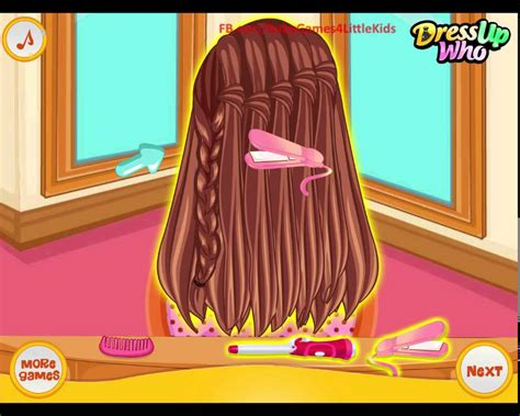 Barbie Hairstyles Game For Girls