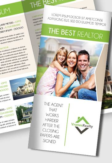 Real Estate Brochure Templates Psd Free by Free Real Estate Trifold Brochure Template In Psd By
