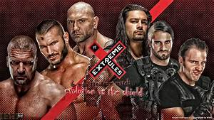 Extreme Rules 2014 - Evolution vs The Shield by Oetzi92 on ...