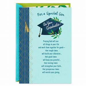 All You 39 Ve Accomplished Religious Graduation Card For Son