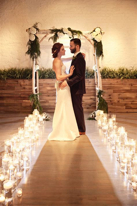 modern candlelight wedding ideas