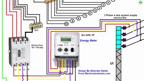 three phase electrical wiring diagram diagram 3 phase wiring installation in house 3 phase