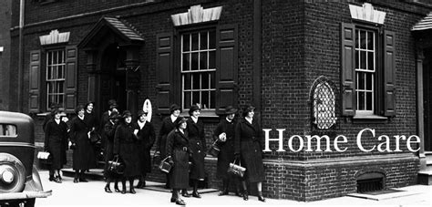 home care nursing history  health care penn nursing