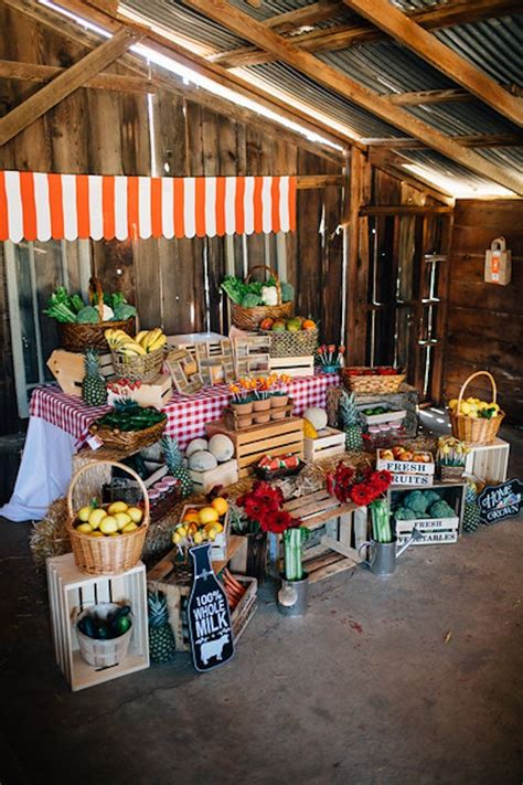 Farmers Market Decorating Ideas - 25 best ideas about farmers market display on