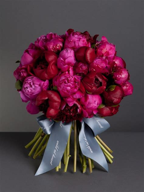 129 Best Images About Peonies Bouquet Ramos Con Peonias