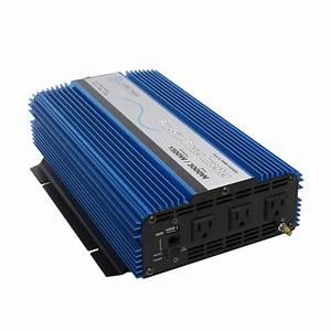 Aims Pwri150024s 1500 Watt 24v Pure Sine Power Inverter