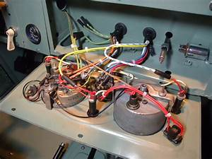 1960 Land Rover Restoration  Panel Wiring