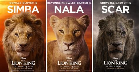 disney releases character posters  upcoming film