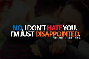 Quotes About Disappointment In Love. QuotesGram