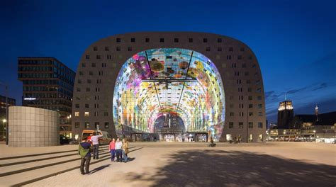 garage with living space markthal rotterdam provast