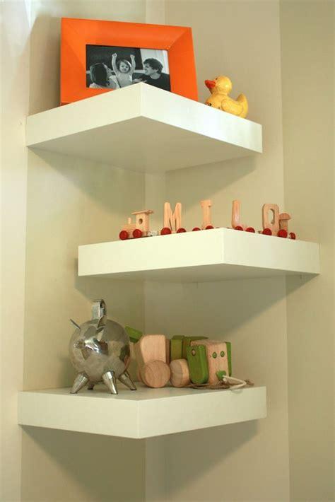 Living Room Glass Corner Shelves by Best 25 Corner Wall Shelves Ideas On Corner