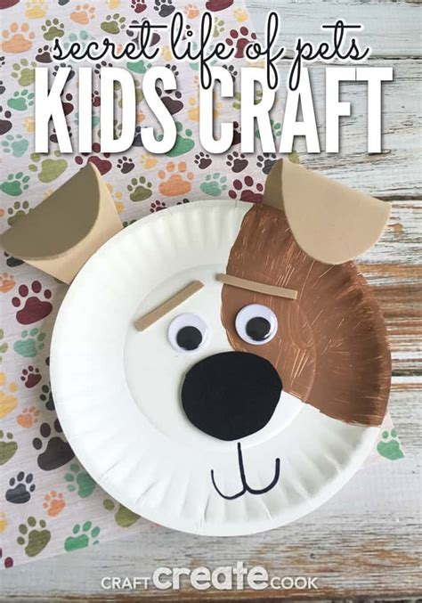 10 crafts to celebrate the new year 2018 146 | 2 10 Dog Crafts To Celebrate Chinese New Year 2018
