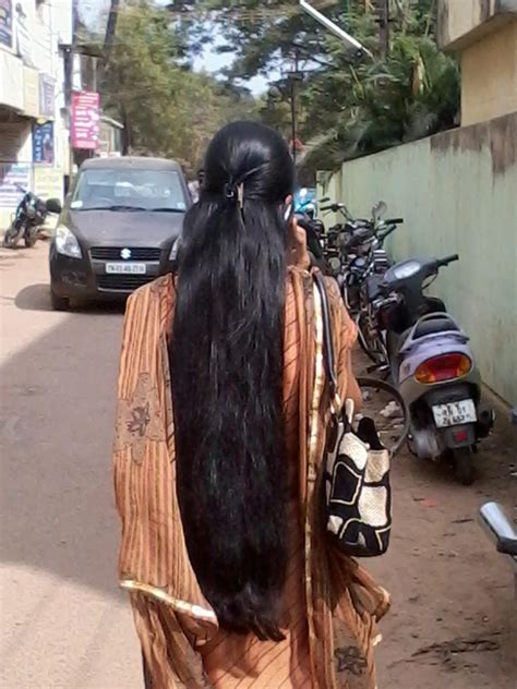 indian long hair girls loose long hair style