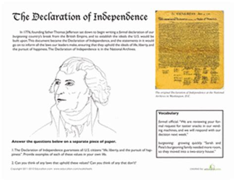 jefferson and the declaration of independence