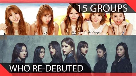 Kpop Groups Who Debuted Into Different Youtube