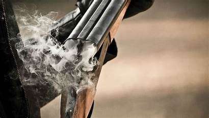Shotgun Smoke Gun Wallpapers Guns Fire Weapons
