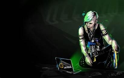 Geek Defcon Hack Hacking Punk Desktop Female