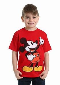 Mickey Mouse Red T-Shirt for Boys