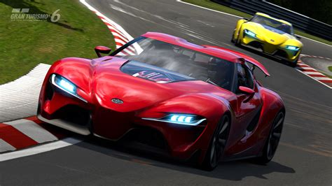 Toyota Ft-1 Concept Coming To Gran Turismo 6 On January