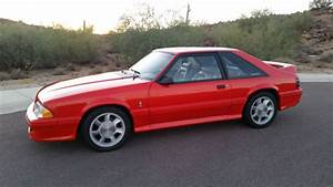 1993 Cobra Ford Mustang 93 Red - Classic Ford Mustang 1993 for sale