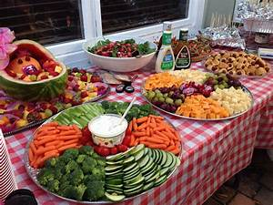 Idée Repas Nombreux : buffet froid et bbq amuses bouche buffets ~ Farleysfitness.com Idées de Décoration