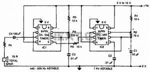 top circuits nextgr With warble alarm siren