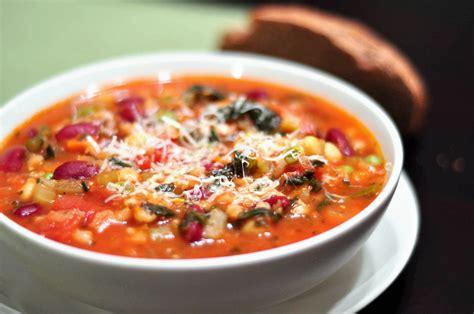 recipe minestrone soup minestrone rezepte suchen