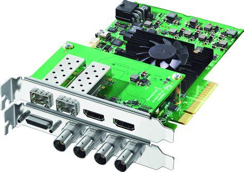 10 best 4k graphics cards of july 2021. Blackmagic DeckLink 4K Extreme 12G PCI Video Capture Card