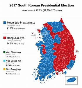 Elections 2017 Candidats : 2017 south korean presidential election results 879x939 mapporn ~ Maxctalentgroup.com Avis de Voitures