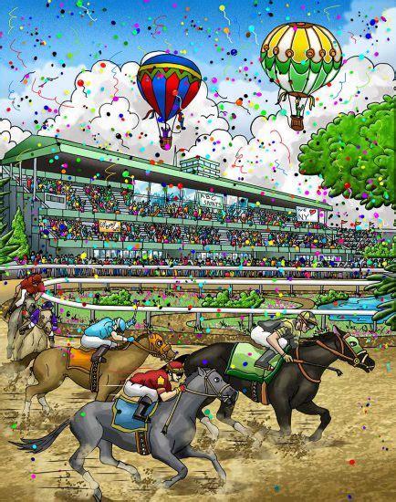 Belmont Stakes 2007 Fazzino