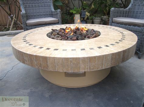 gas outdoor pit gas fireplace pit outdoor marble mosaic lava rocks 19