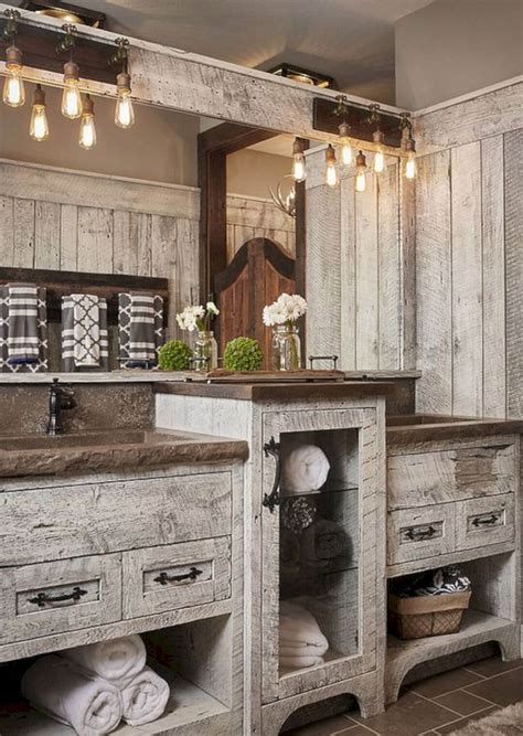 Rustic Bathroom Ideas by 35 Best Rustic Bathroom Vanity Ideas And Designs For 2019